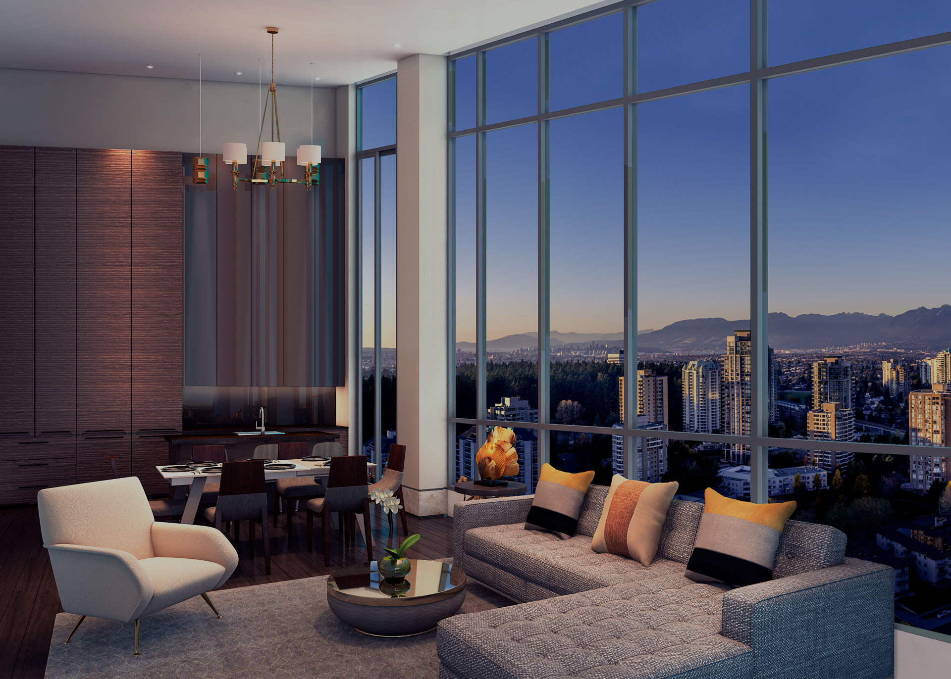 Gold house living penthouses